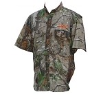 ForEverLast Camo Button Down T-Shirt