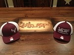 Maroon Richardson Fitted Caps S/M or L/XL please specify